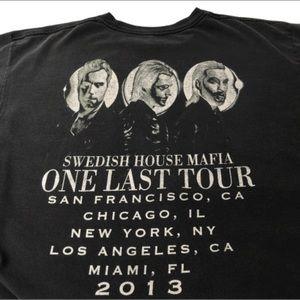 Swedish House Mafia EDM final tour shirt black